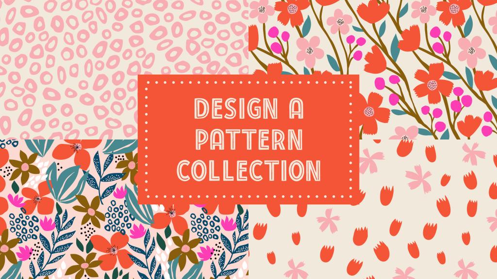 iPad repeat pattern, iPad surface design