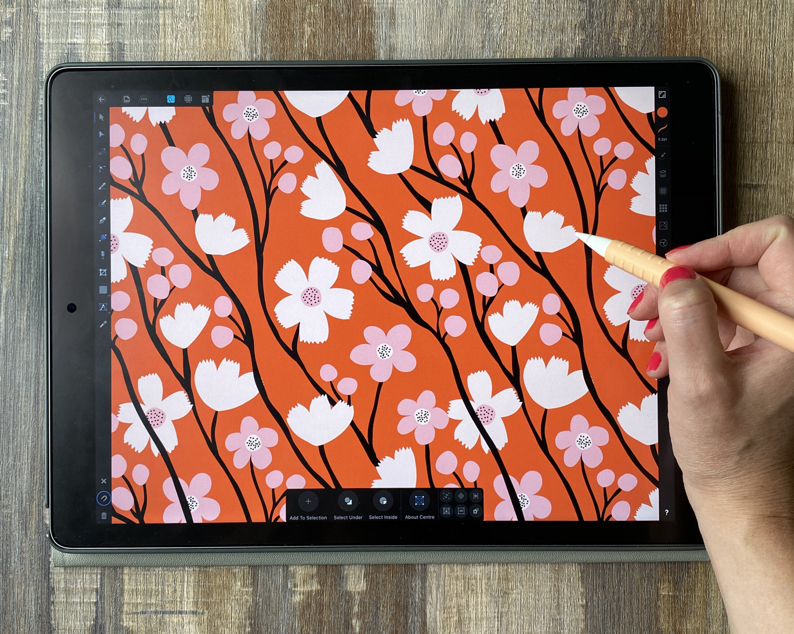 What is the Best iPad App for Making Repeat Patterns?