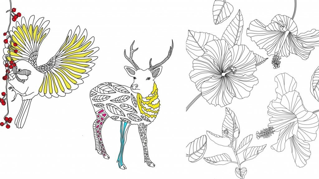 3 Free Adult Coloring Pages (Digital Or Printable!)